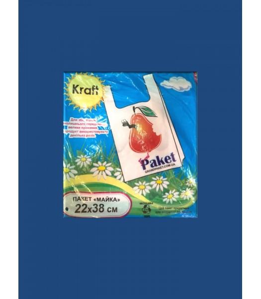 Пакет Майка 22*38 Grand Extra 100шт. в упаковке