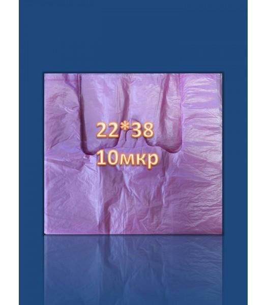 Пакет Майка 22*38 10мкр 160 шт/уп