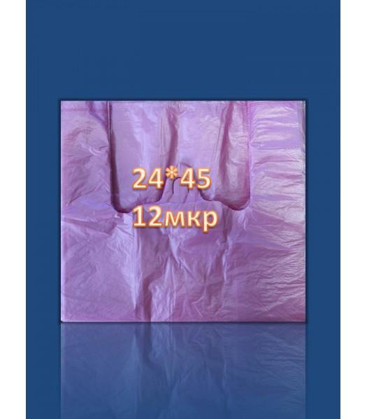 Пакет Майка 24*45 12Мкр 200 шт. в упаковке