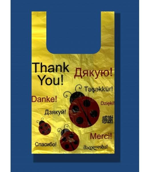 Пакет Божья Коровка 30*50 100шт. в упаковке