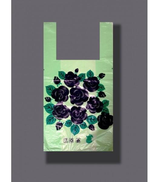 Пакет Любимые покупки Цветы 100шт. в упаковке