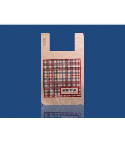 Пакет Шотландка 30*55 (100шт. в упаковке)
