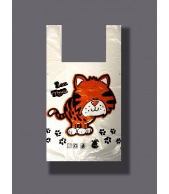 Пакет Любимые покупки Тигруля 100шт. в упаковке