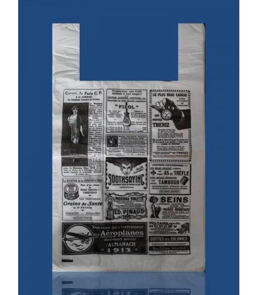 Пакет Газета Ретро 30*50 (100шт. в упаковке)
