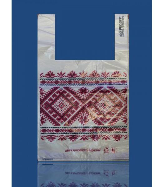 Пакет серия Украина 30*50(100шт. в упаковке)