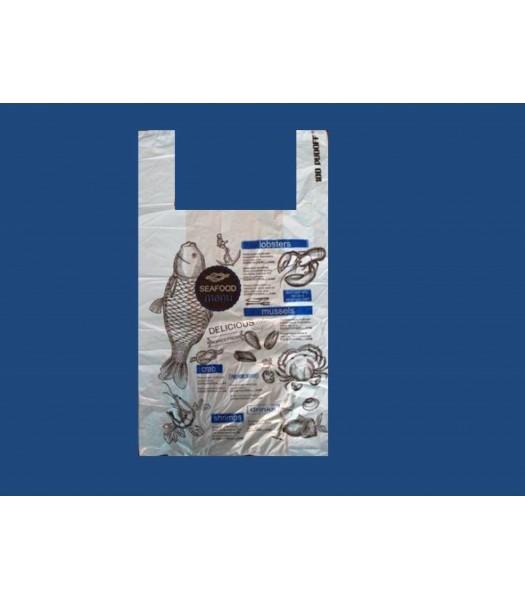 Пакет Майка Рыба 32*55 100шт. в упаковке