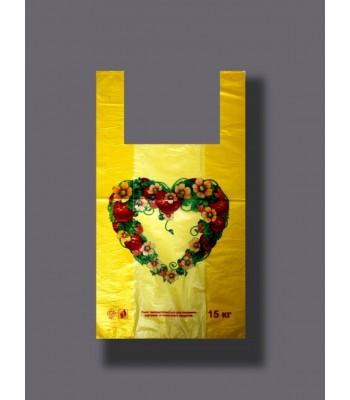 Пакет Клубника 30*55 100шт. в упаковке