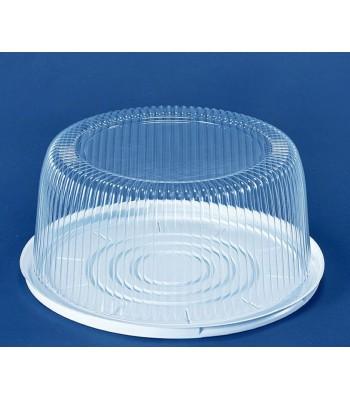 Пластиковая упаковка для торта ПС-240, 200 шт/уп