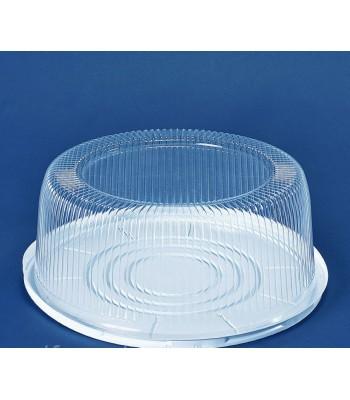 Пластиковая упаковка для торта ПС-260, 75шт/уп