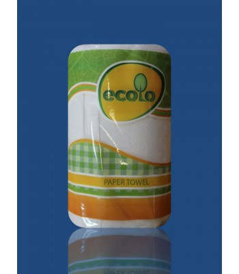 Полотенце Бумажные Ecolo 2сл