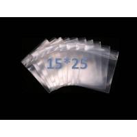 Пакеты с замком zip lock 15*25 (100 шт. в упаковке)