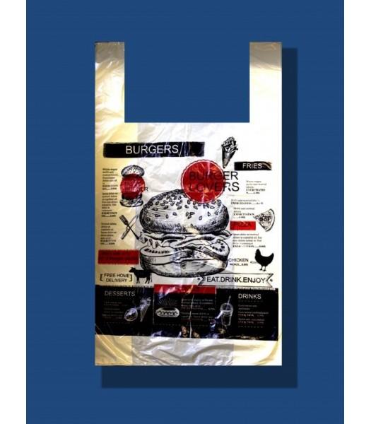 Пакет Майка Бургер 32*55 100шт. в упаковке
