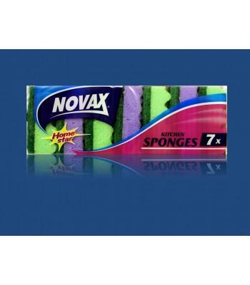 Мочалка Novax 7шт. Плюс